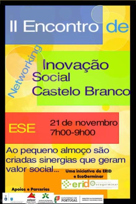 II encontro de Inovação - Cartaz